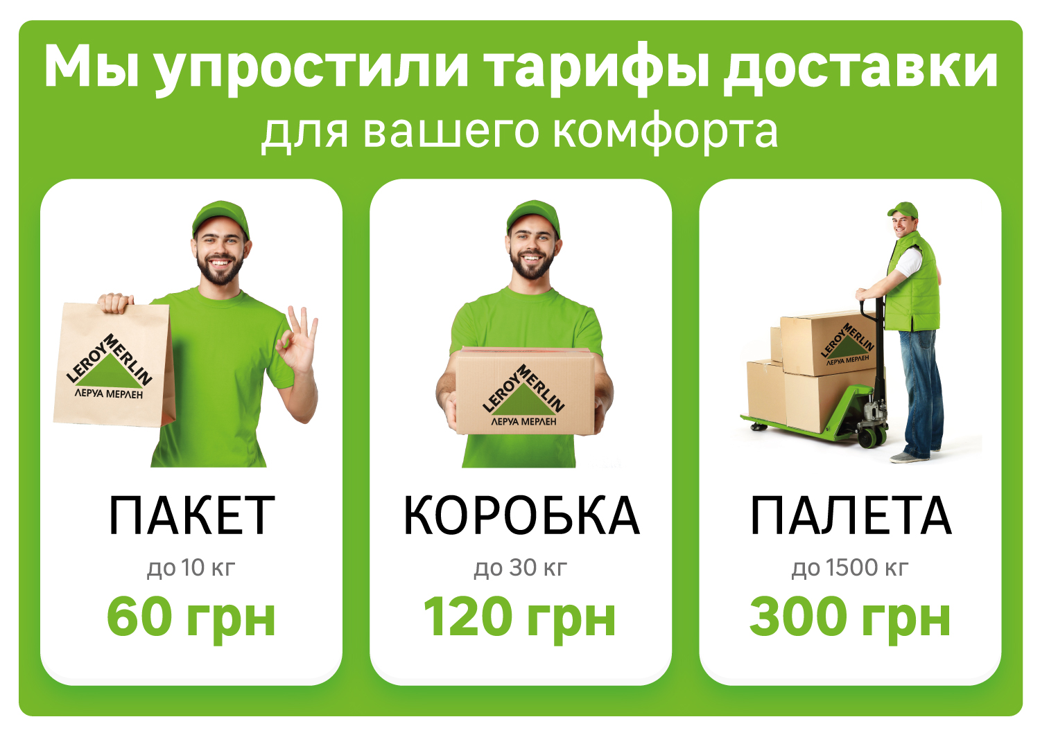 Delivery Rules LM in Kiev