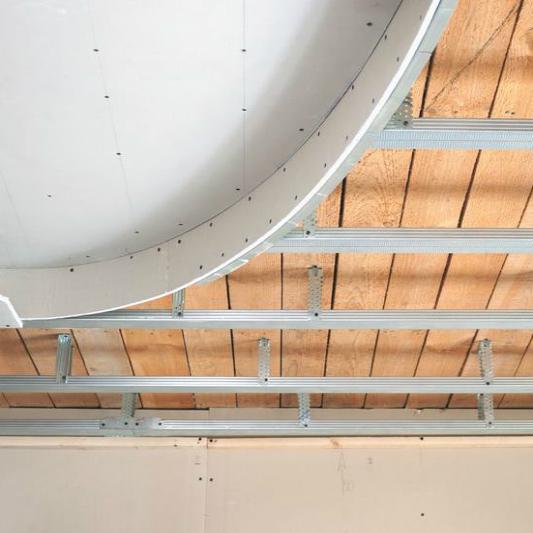 Как делать подвесной потолок своими руками 683