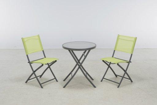 набор мебели бистро зеленый
