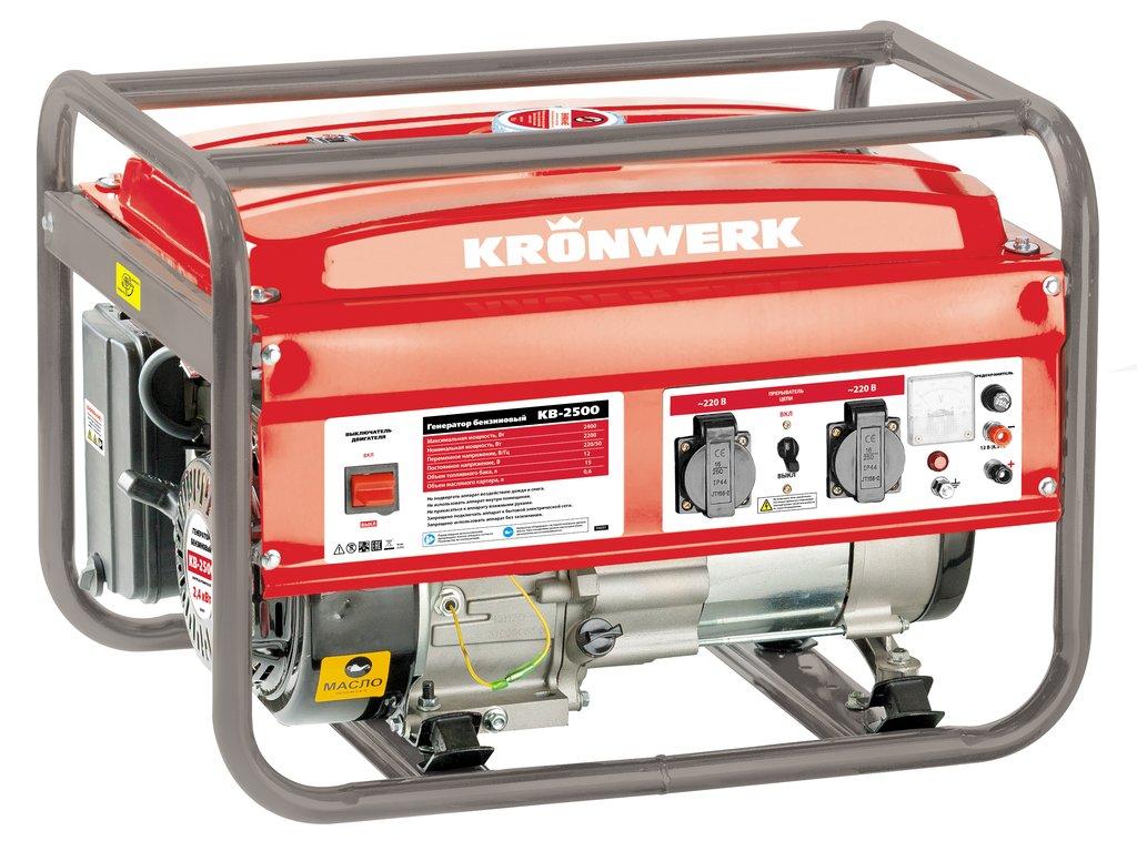 Kronwerk kb 3500 leroy for Generatore leroy merlin