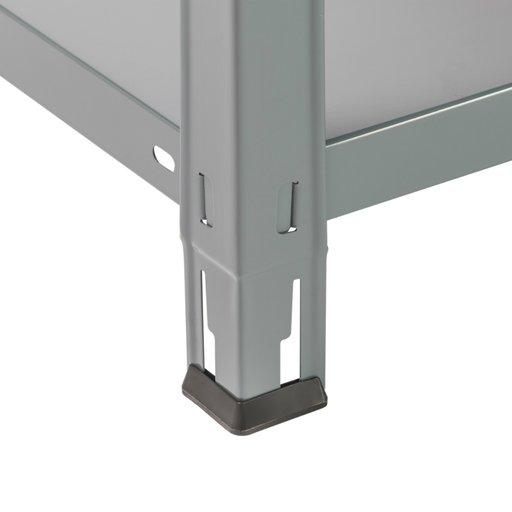 стелаж Clicker70 5 полиць сірий 1870х900х400мм