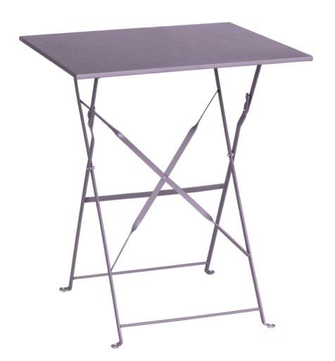 стіл Flora Origami квадратний фіолетовой 60х60х71 см