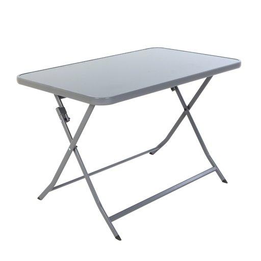 стіл розкладний Bistro темно сірий 110х70х72 см